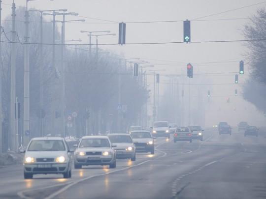 Több városban veszélyes, illetve egészségtelen a levegő