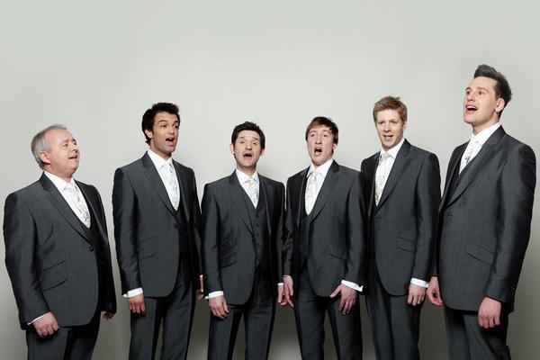 A The King's Singers ad koncertet a Kodály Központban