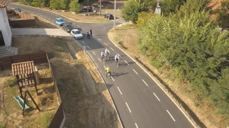 Uniós kerékpárút egyesítette Nyírpazonyt és Kabalást, amelyet a 4-es főút vágott ketté