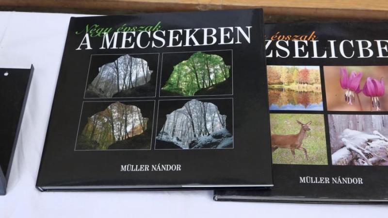 Térkép, kézikönyv? A magyar természet szeretete süt át Müller Nándor könyvein - videó