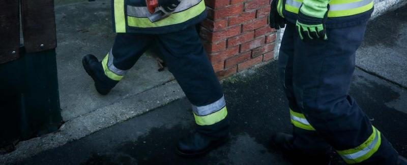Megégett holttestet találtak a tűzoltók Pécsen