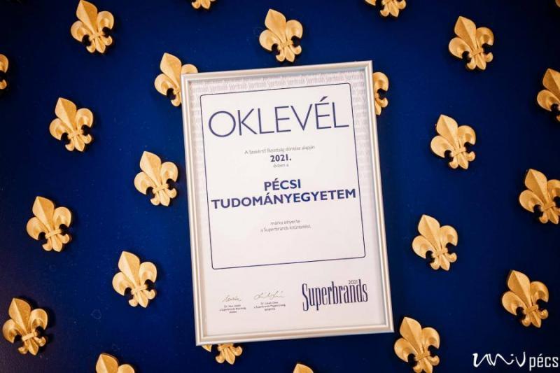 Rangos elismerés a Pécsi TE-nek
